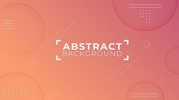 Moderne abstracte vormen achtergrond