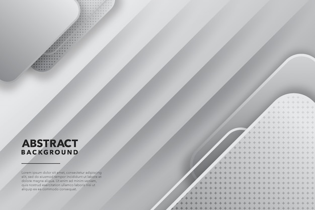 Moderne abstracte witte achtergrond