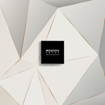 Moderne achtergrond, abstracte geometrische vormen