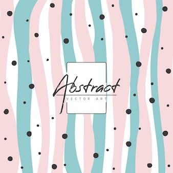 Moderne achtergrond met abstracte organische vormen in pastelkleuren.