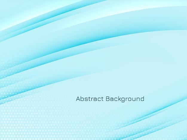 Moderne achtergrond met glanzende golvende lijnen
