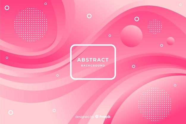 Moderne achtergrond van abstracte vormen