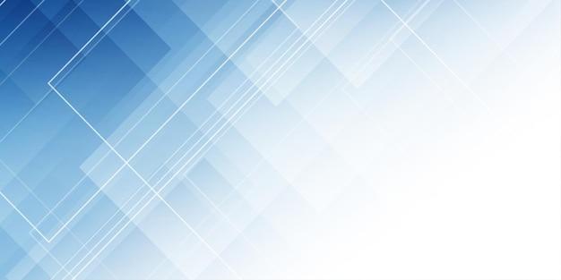 Moderne banner met een abstract laag poly-ontwerp