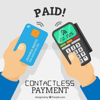 Moderne betaalmethode samenstelling
