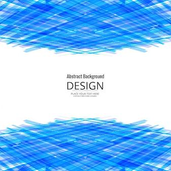 Moderne blauwe geometrische achtergrond