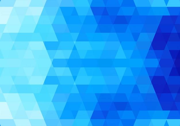 Moderne blauwe geometrische vormen achtergrond