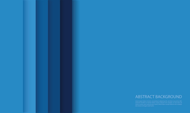 Moderne blauwe lijnen achtergrond