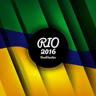 Moderne brazilië kleuren achtergrond
