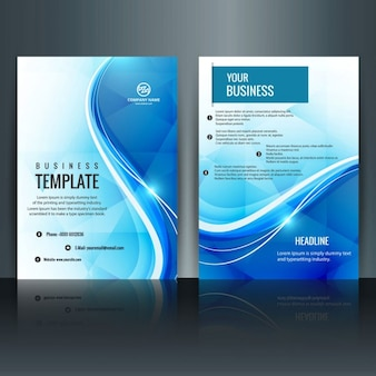 Moderne brochure template