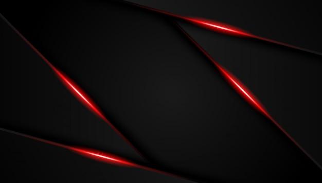 Moderne de sportachtergrond van luxe heldere rode lijnen