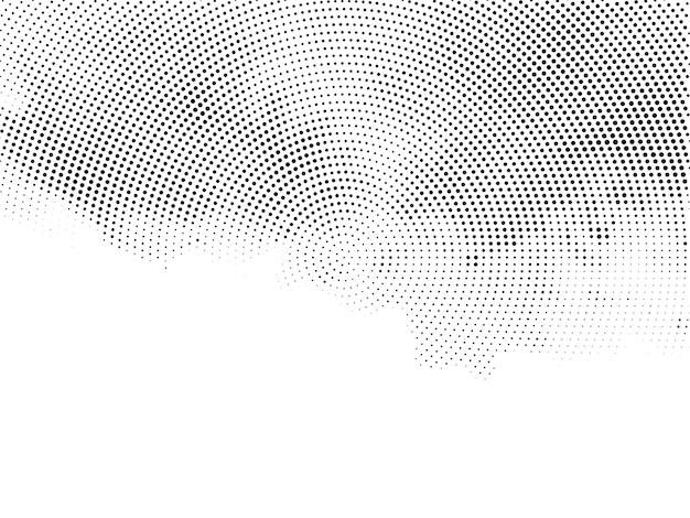 Moderne decoratieve halftone ontwerp achtergrond vector