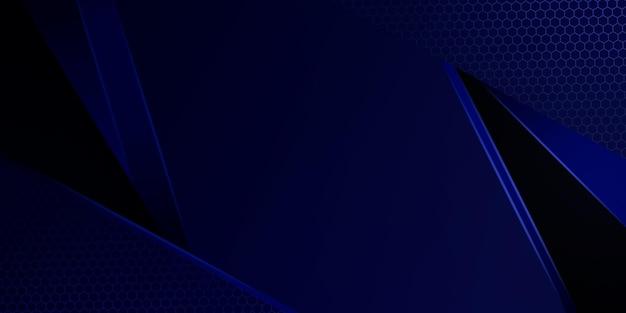 Moderne donkerblauwe abstracte achtergrond