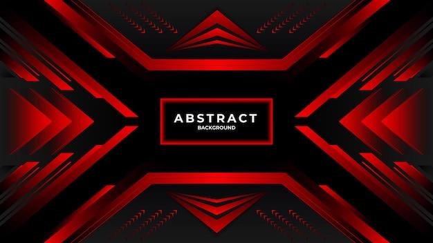Moderne donkere en rode abstracte achtergrond