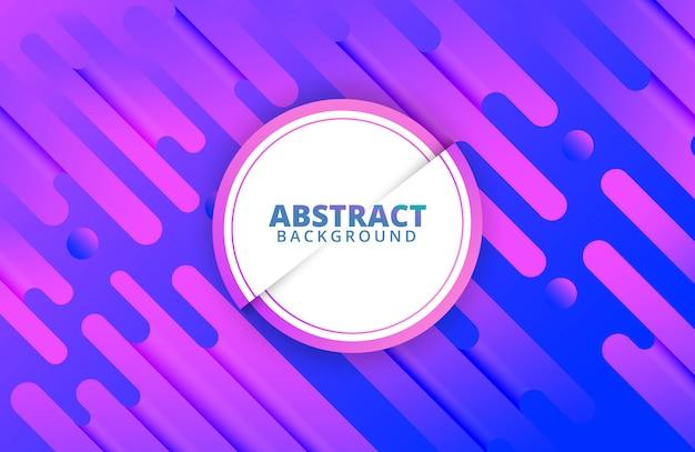 Moderne dynamische achtergrond met abstracte vormensamenstelling