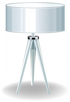 Moderne elektrische lamp