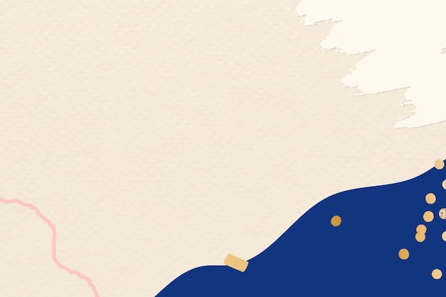 Moderne feestelijke nieuwjaarsbegroeting vector beige papier getextureerde achtergrond