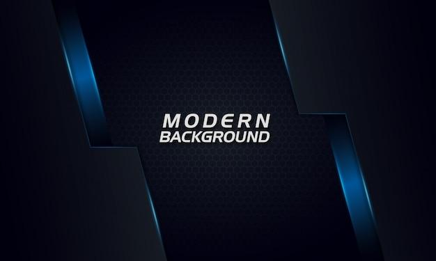 Moderne futuristische donkere achtergrond