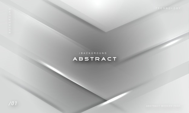 Moderne futuristische zwart-wit geometrische achtergrond