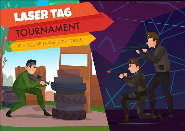 Moderne gaming sport poster