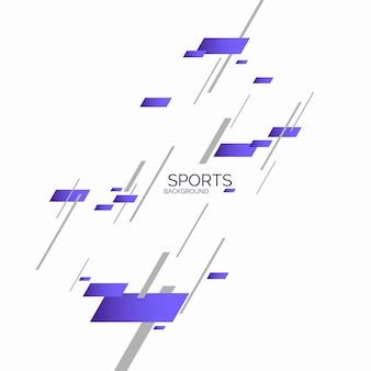 Moderne gekleurde poster voor sport vectorafbeeldingen
