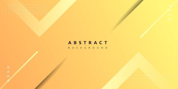 Moderne gele geometrische achtergrond