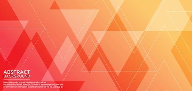 Moderne geometrische achtergrond met driehoeksvorm