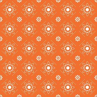 Moderne geometrische naadloze patroon achtergrond. klassiek batikbehang.