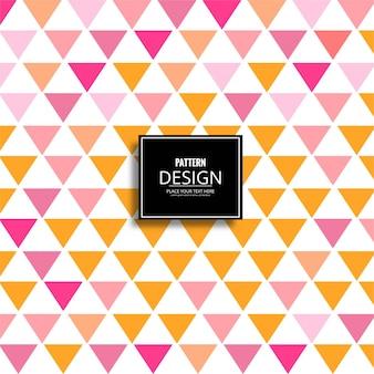 Moderne geometrische patroon achtergrond