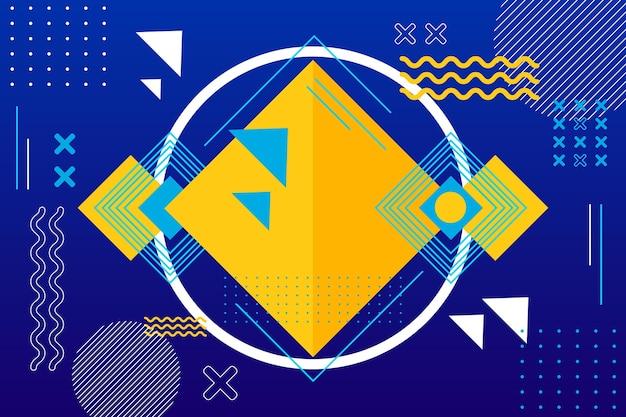 Moderne geometrische vormen achtergrond