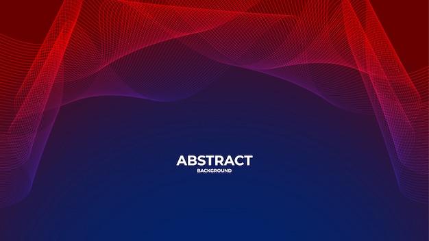 Moderne golvende abstracte premie als achtergrond