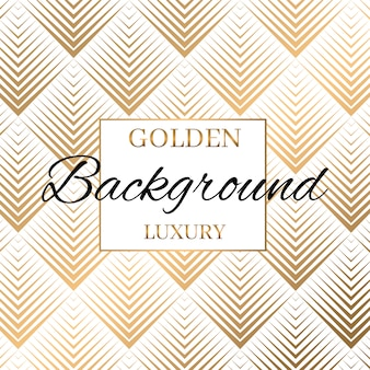 Moderne goud gestripte naadloze patroon achtergrond