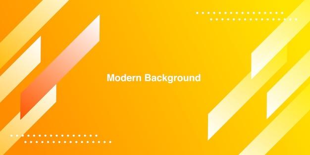 Moderne gradiënt gele kleur achtergrond