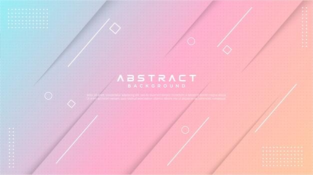 Moderne gradiënt kleurrijke abstracte achtergrond