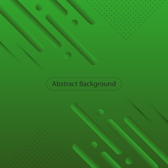 Moderne groene gradiënt afgeronde vorm achtergrond. abstracte achtergrond. vector illustratie.