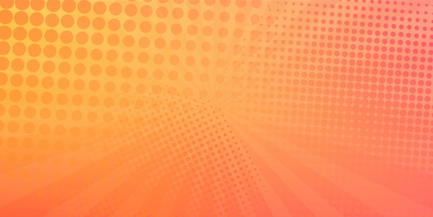 Moderne halftone ontwerpsjabloon