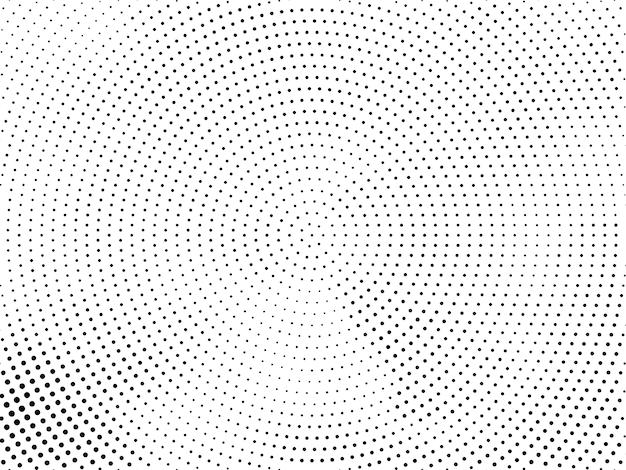 Moderne halftone ontwerpvector als achtergrond
