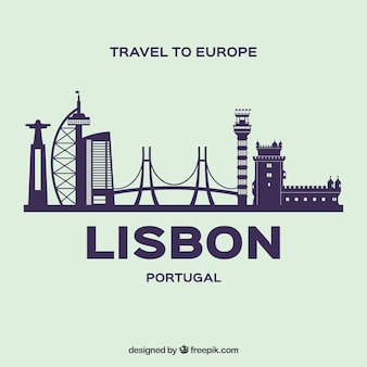 Moderne horizon van lissabon