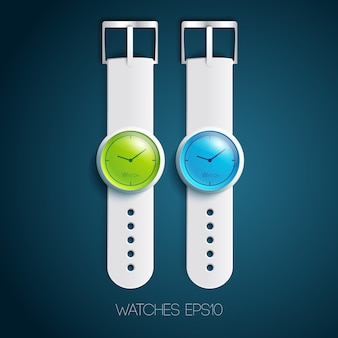 Moderne horloges collectie