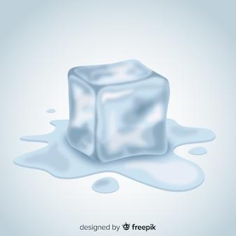 Moderne ijsblokjesverzameling
