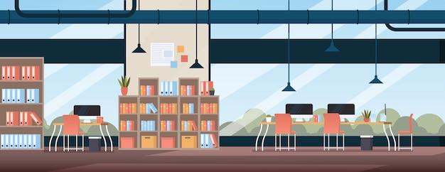 Moderne kantoorruimte loft interieur