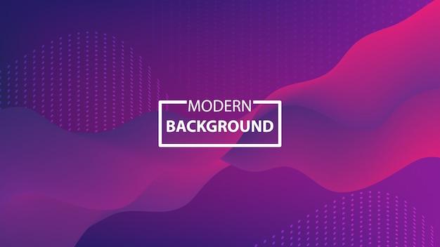 Moderne kleurrijke abstracte achtergrond met vloeiende vormen