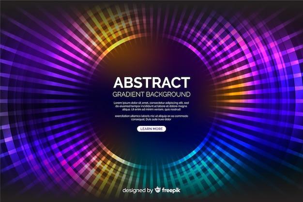Moderne kleurrijke cirkelsachtergrond