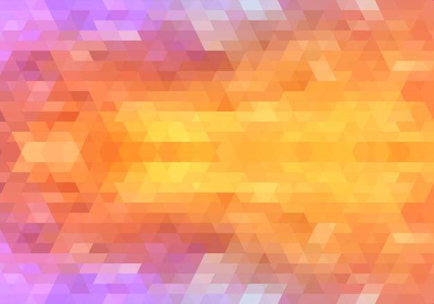 Moderne kleurrijke geometrische vormen