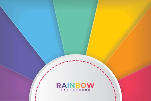 Moderne kleurrijke regenboogachtergronden.
