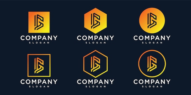 Moderne letter g logo vector ontwerpsjabloon