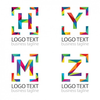 Moderne letters logo