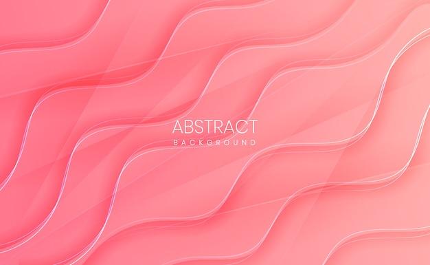 Moderne lichtroze abstracte achtergrond met kleurovergang