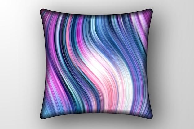 Moderne marmeren decoratieve achtergrond voor kussens dekken ontwerpsjabloon