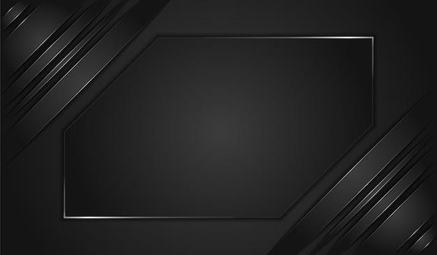 Moderne metallic zwarte achtergrond