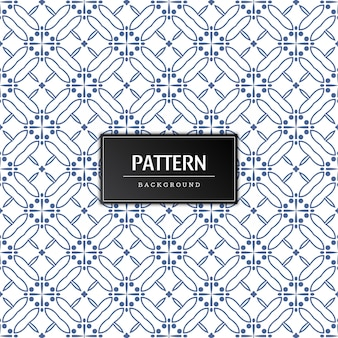 Moderne naadloze patroon decoratieve achtergrond